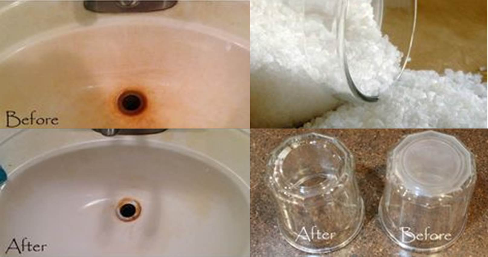 and after faucet how hard remove tub clean to stains naturally from your deposits water