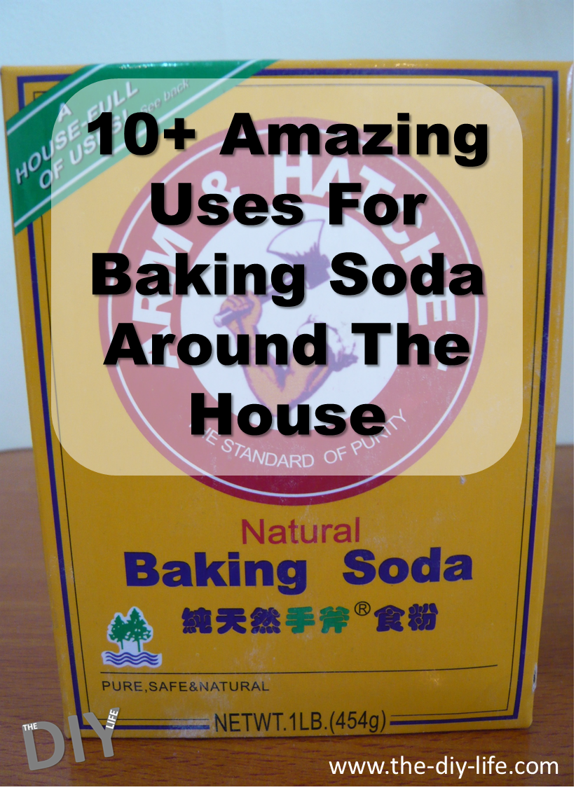 Over ten amazing uses for baking soda around the house