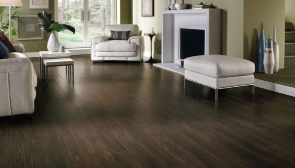 laminate flooring end