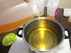 melting oils