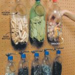 pegboard bottle holders