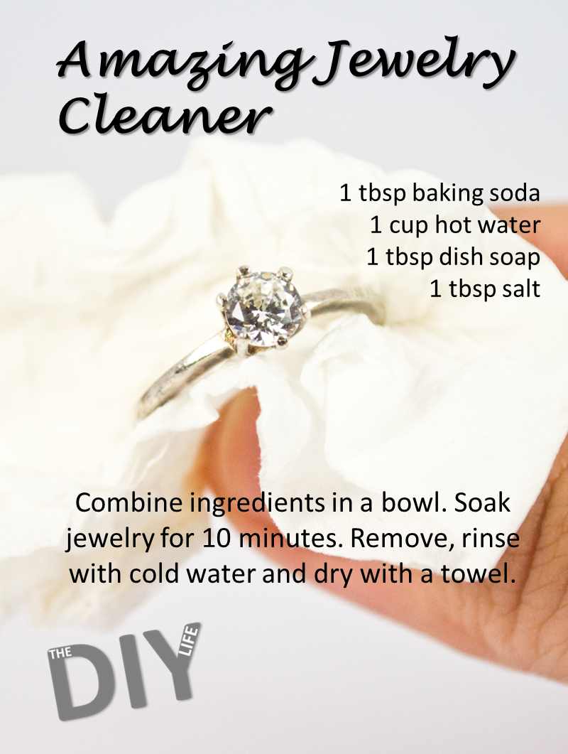 Use baking soda to clean your jewelry