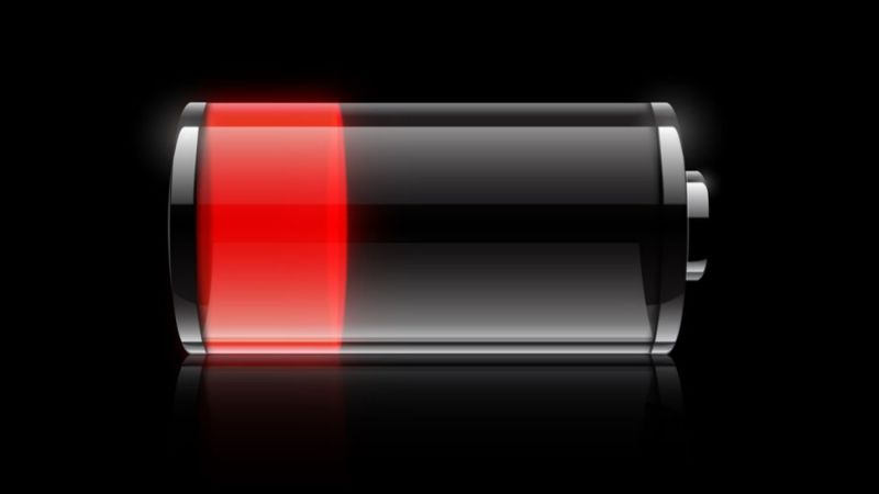 iphone battery indicator