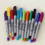 sharpie wall markers