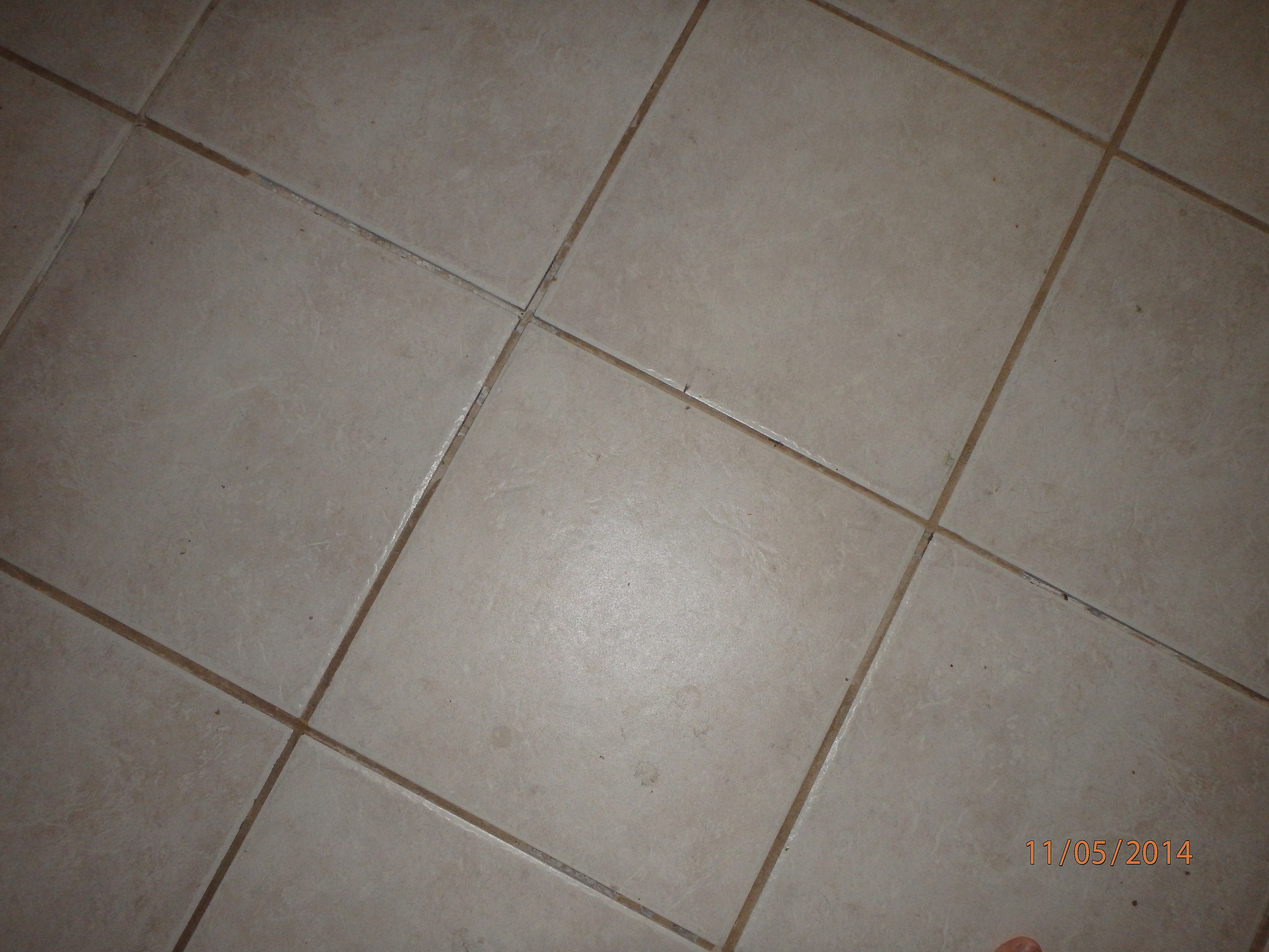 replaced cracked tile
