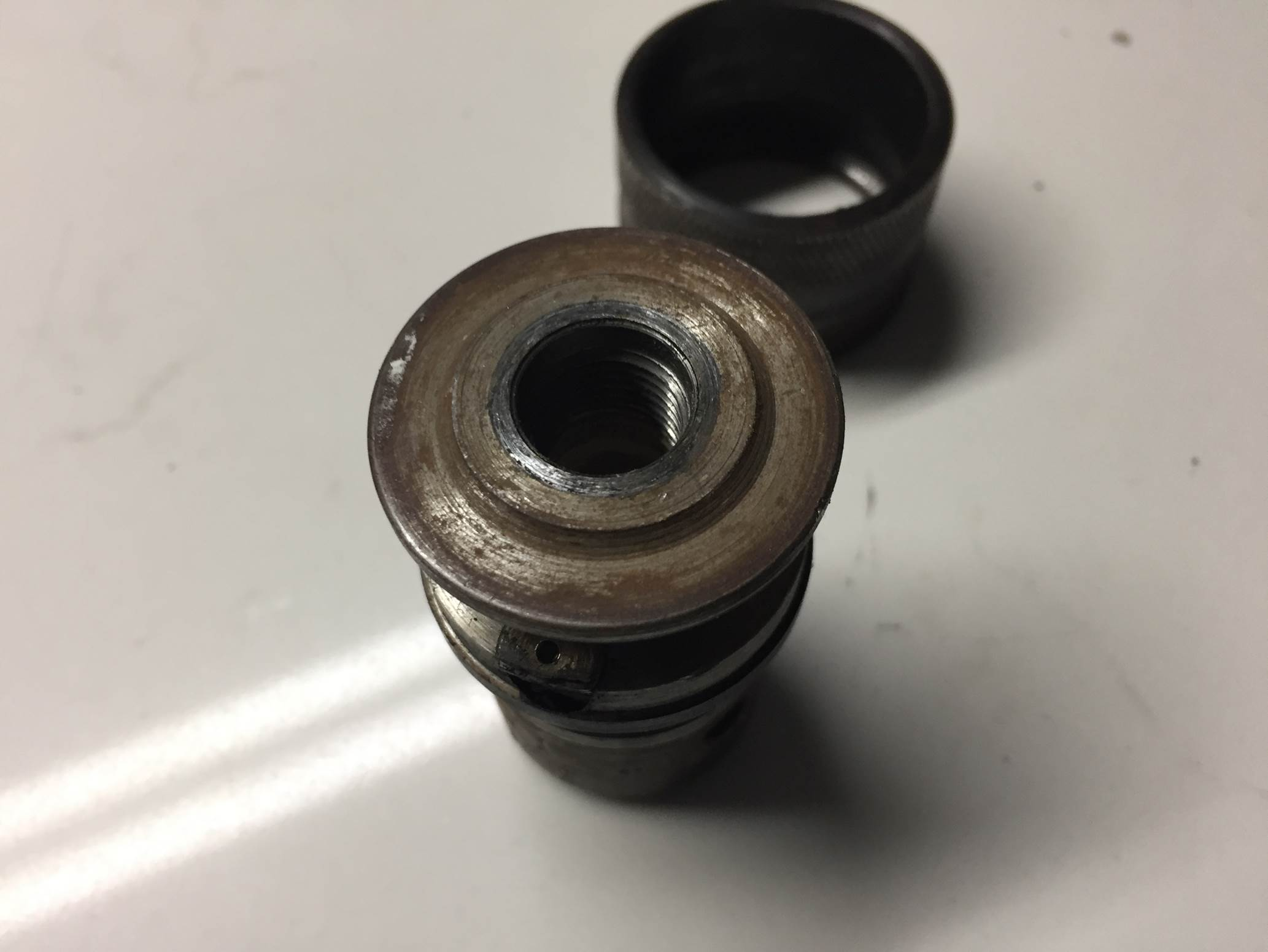 drill chuck thread, replace chuck