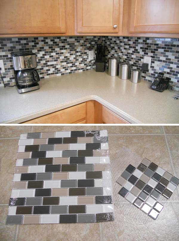 tiled kitchen backsplash