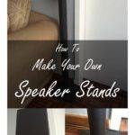 make your own speaker stands pinterest
