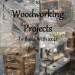 10 Woodworking projects to build with 2x4s