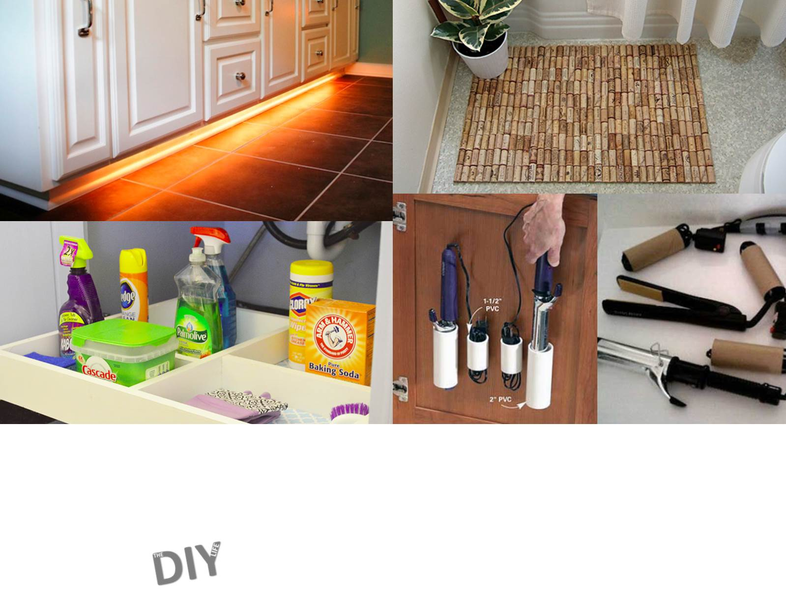 10 diy projects to update your bathroom