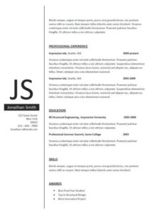 clean-resume-template-sample