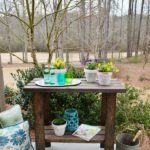 porch or patio side table