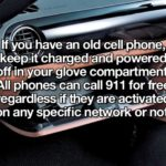 cellphone for emergencies