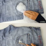 get chewing gum out of your clothes by freezing it