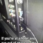 hotel charger hack