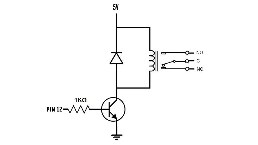 larger relay coil circuit