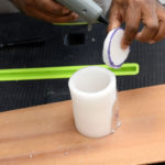 make the led storage container cylinder