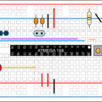 building your own arduino – breadboard layout