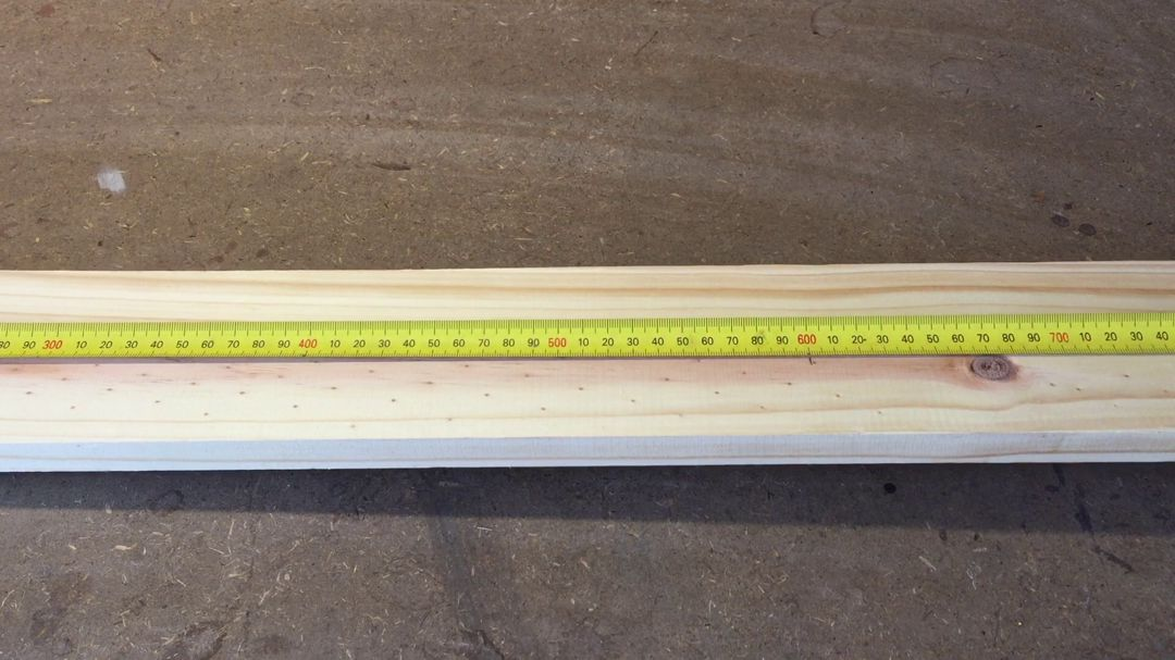 Measure out 600mm For The Vertical Sides