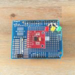 Prototyping Shield Complete – ADXL345 Mounted