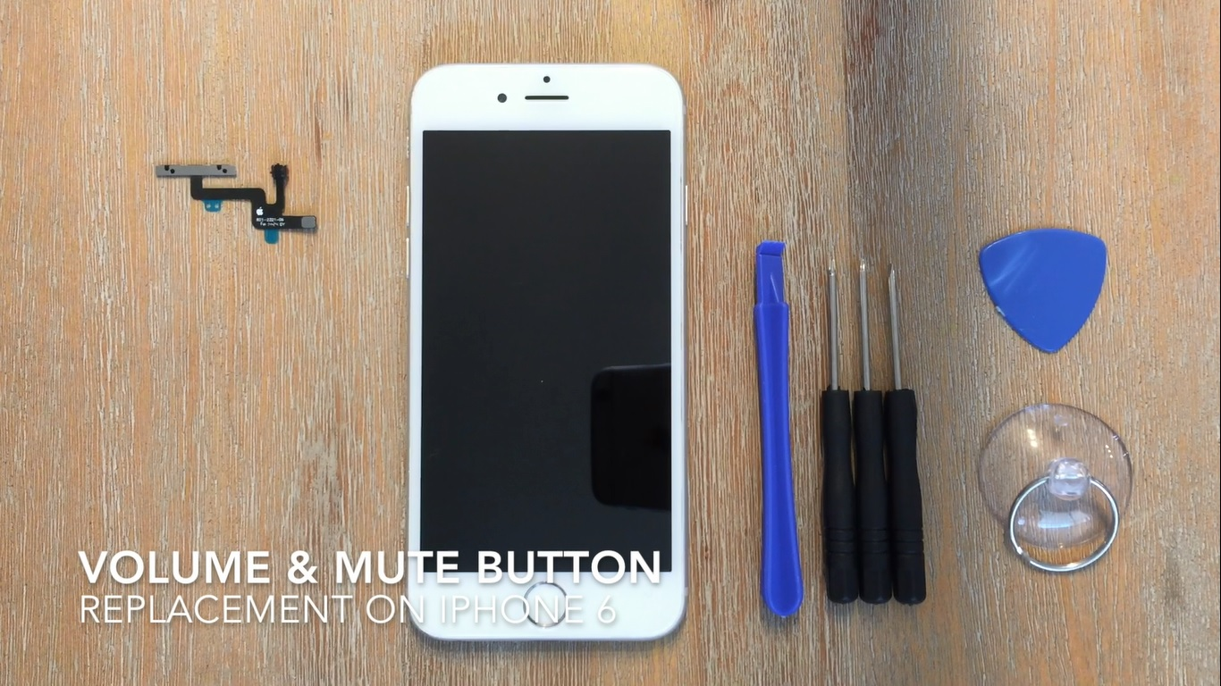 iPhone 6 Volume and Mute Button Replacement