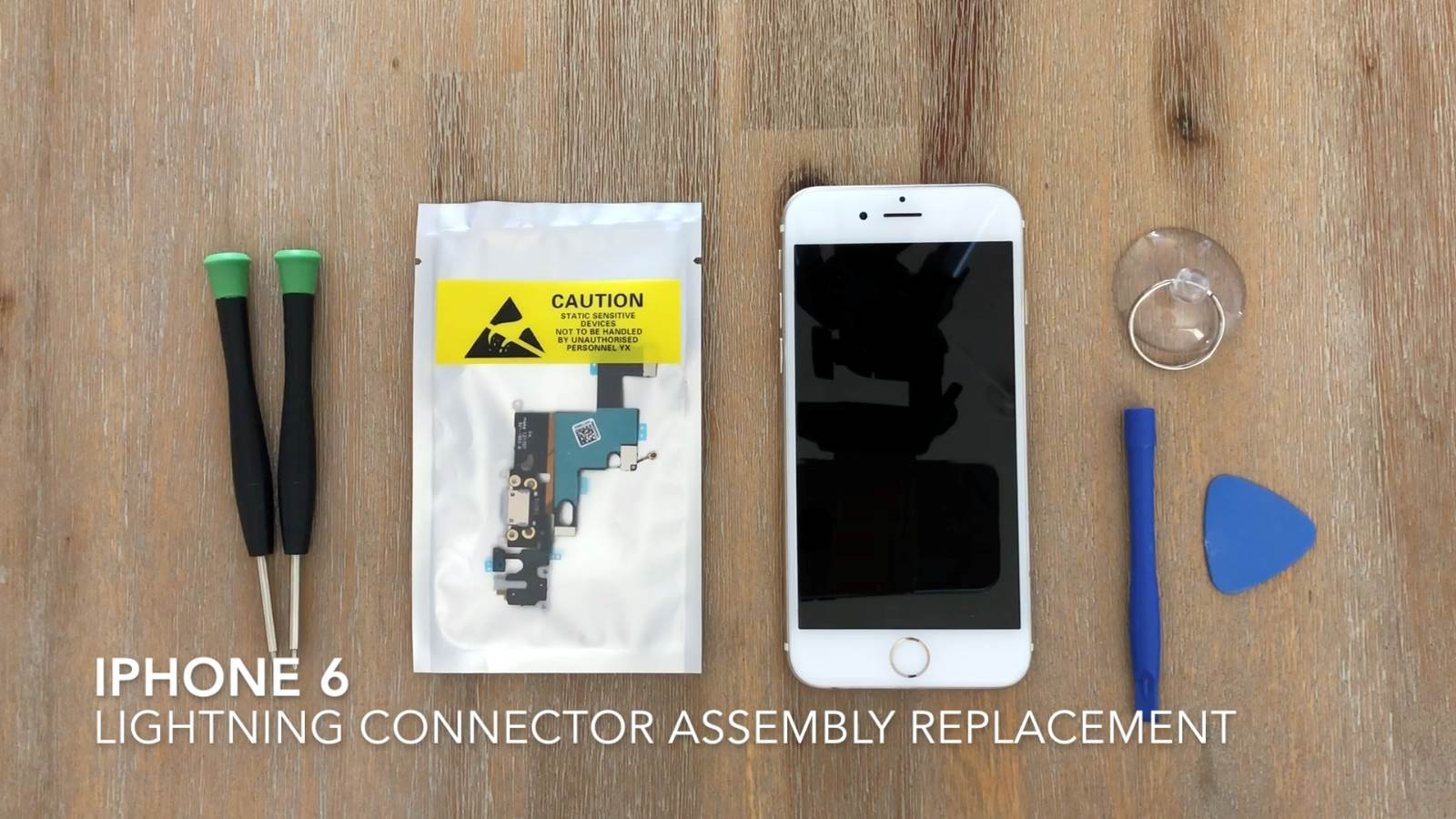 brand new d8f21 fdfac IPhone 6 Lightning Connector Assembly Replacement | The DIY Life