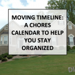 Moving Timeline- A Chores Calendar to Help You Stay Organized