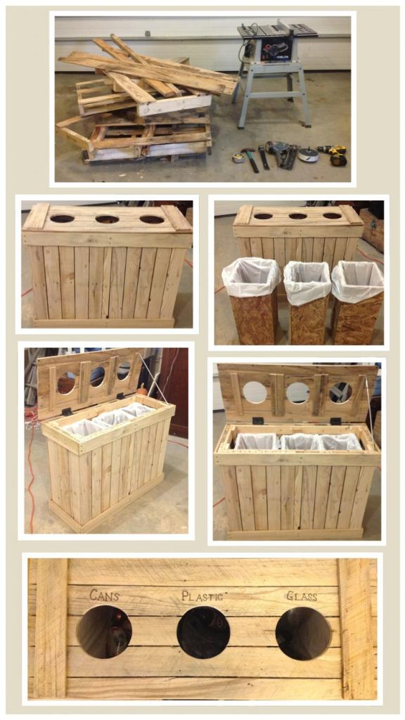 Wood Pallet Recycling Separator