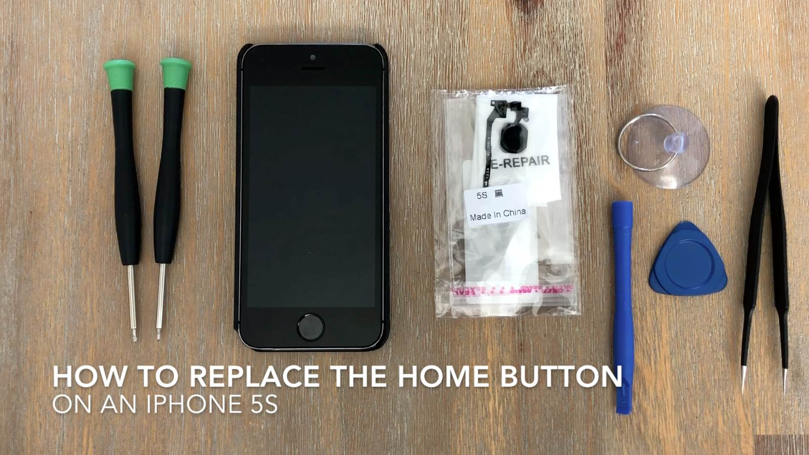 How To Replace The Home Button On An iPhone 5S
