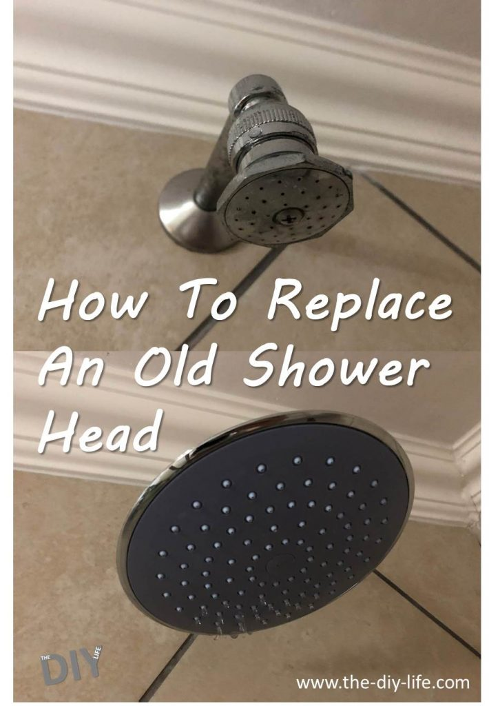 How To Replace An Old Shower Head