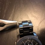Use A Pliers To Pull The Pin From The Watch Strap