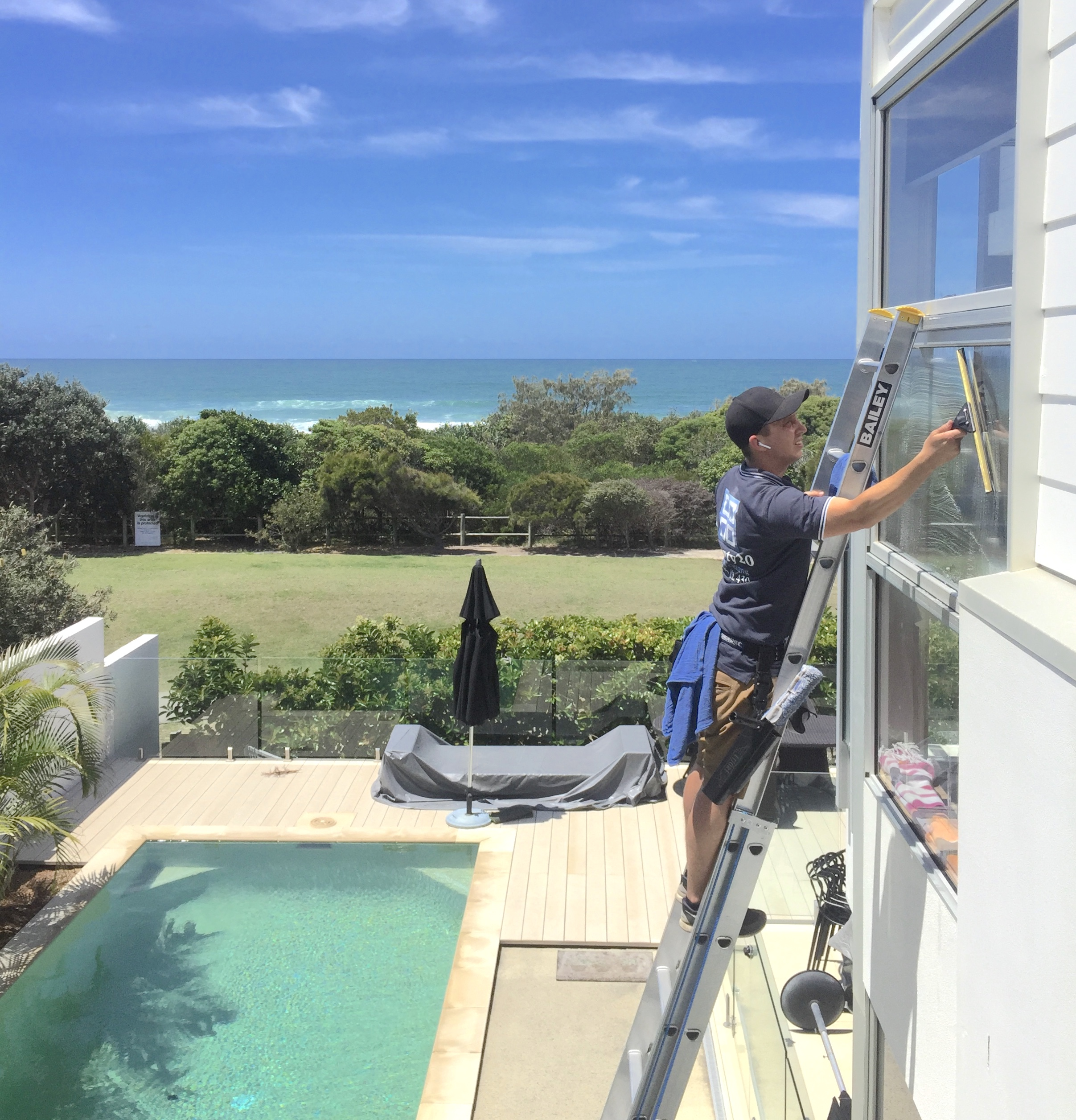 window cleaning example shot