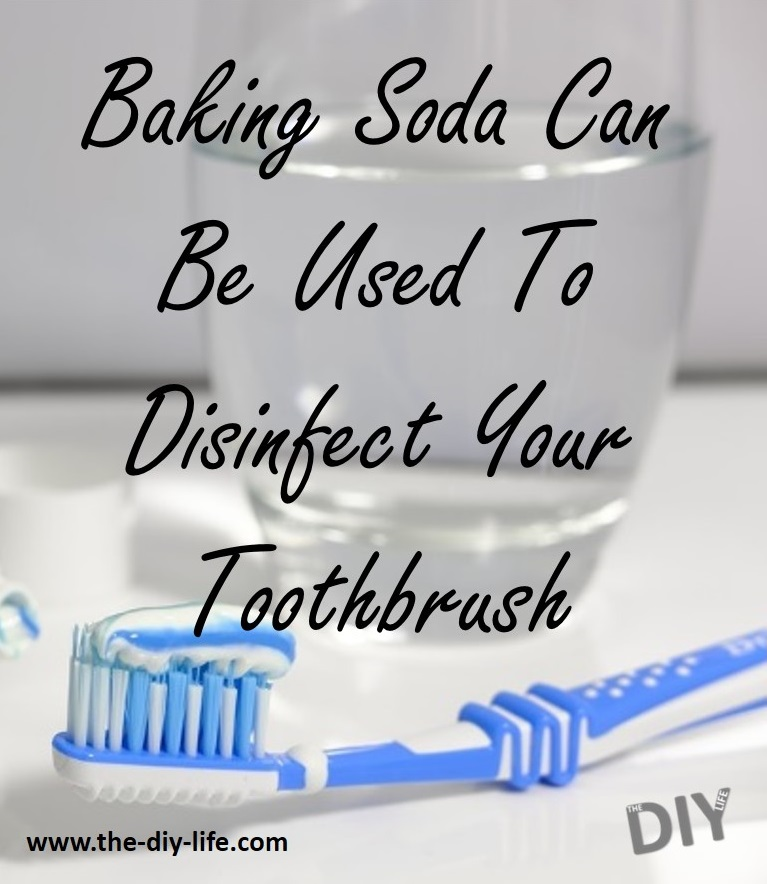 Baking Soda Can Be Used To Disinfect Your Toothbrushes