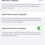 iPhone 11 Pro Battery Health