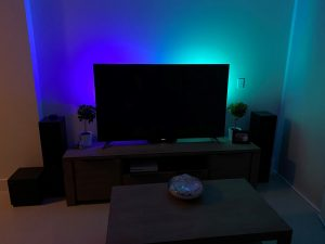 Philips Hue Bars One Blue and One Turquoise