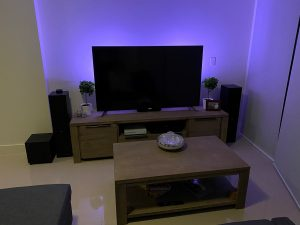 Philips Hue Bars Purple