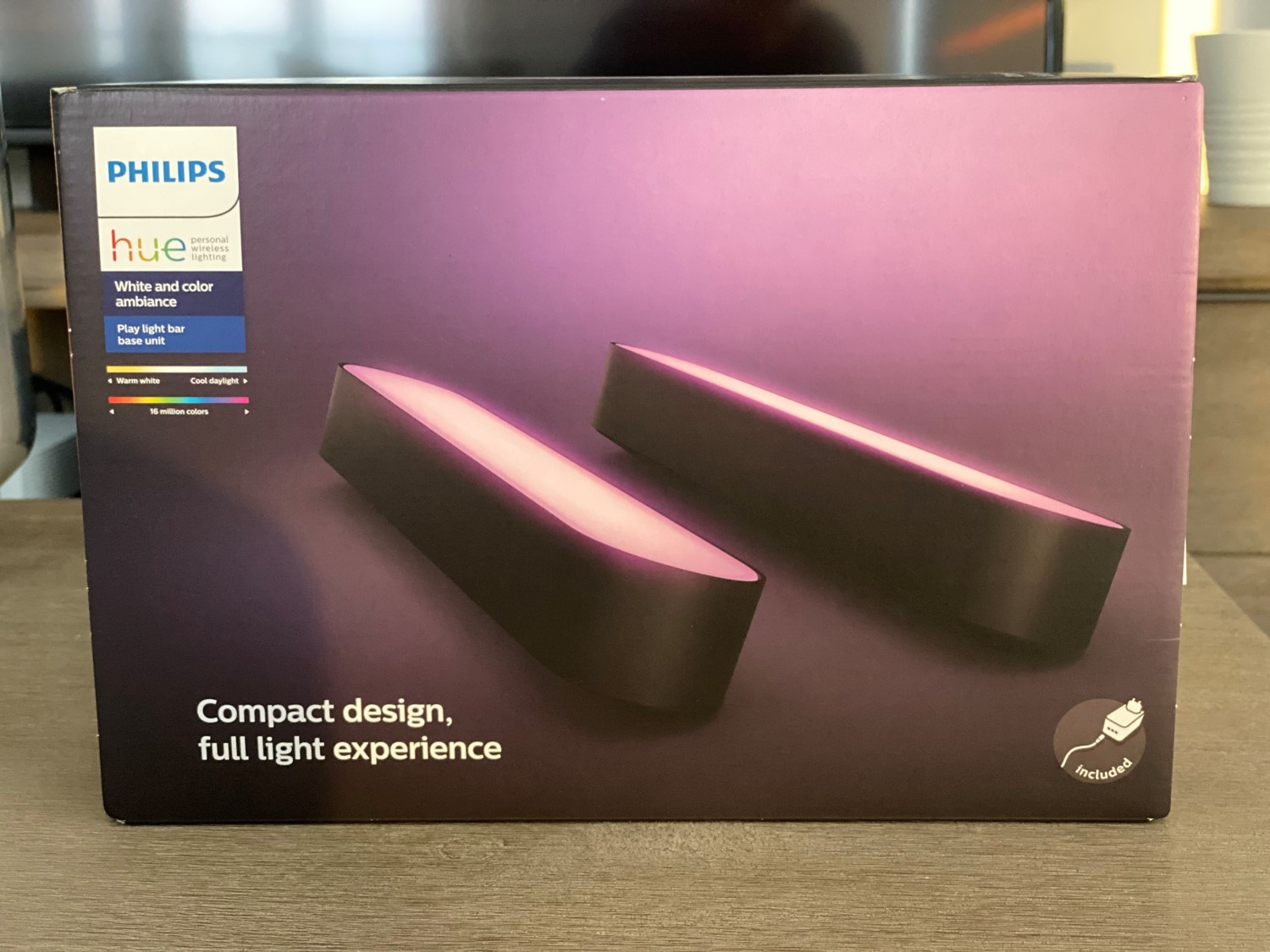 Philips Hue Play Light Bars Box