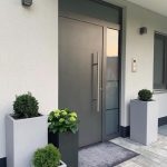 Planters around your entrance