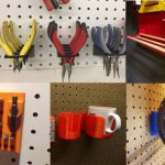 10 Amazing 3D Printed Pegboard Accessories For Your Workshop Cover