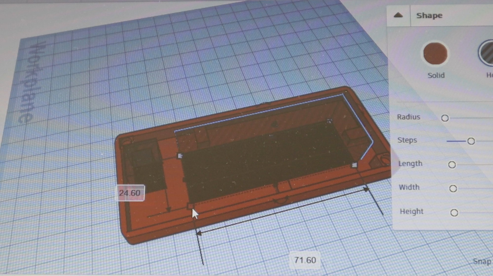 Adjusting The Size Of The Cutout On Enclosure