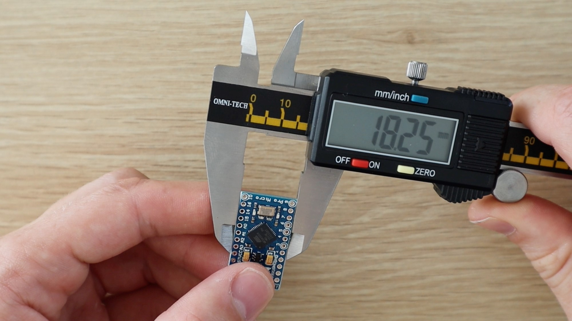 Measuring The Arduino Components