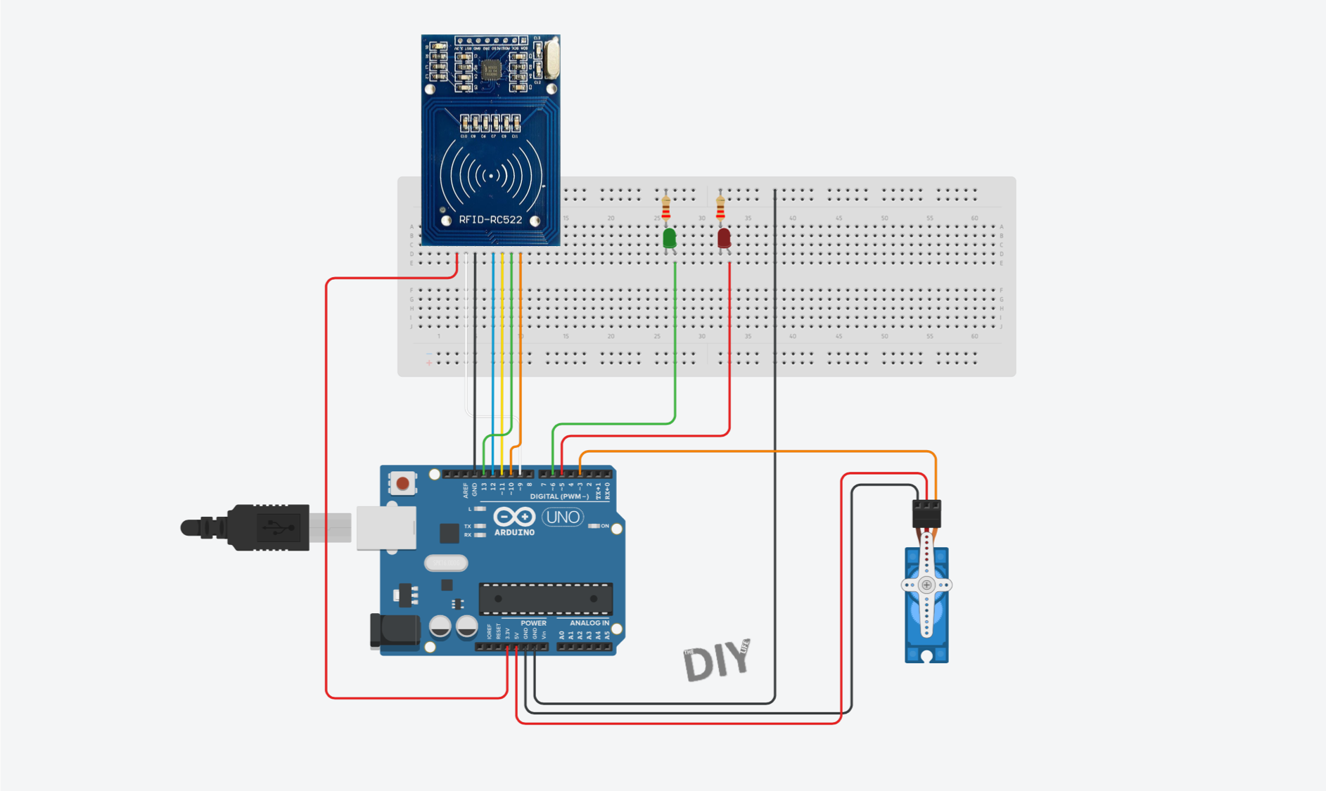 RC522 RFID Sensor Connection to Arduino