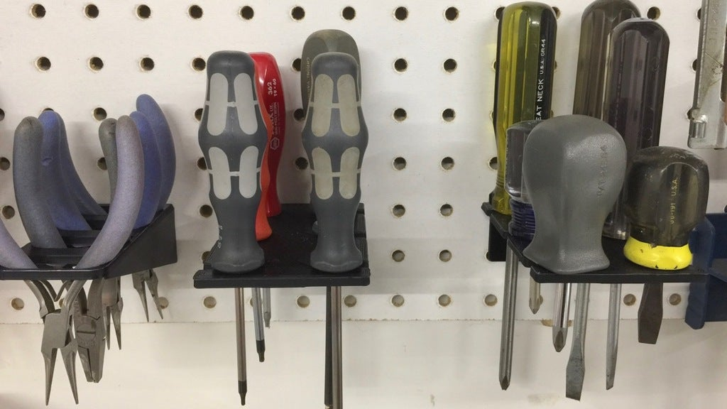Screwdriver Pegboard Accessories
