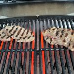Two Steaks Cooking On Pulse 2000