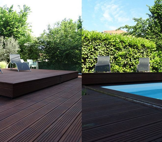 A Sliding Deck Pool Cover - A New & Stylish Way To Cover Your Pool