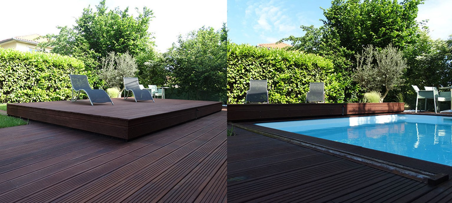 A Sliding Deck Pool Cover A New Stylish Way To Cover Your Pool The Diy Life