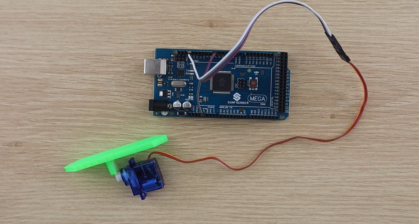 Arduino Mega Servo Connection