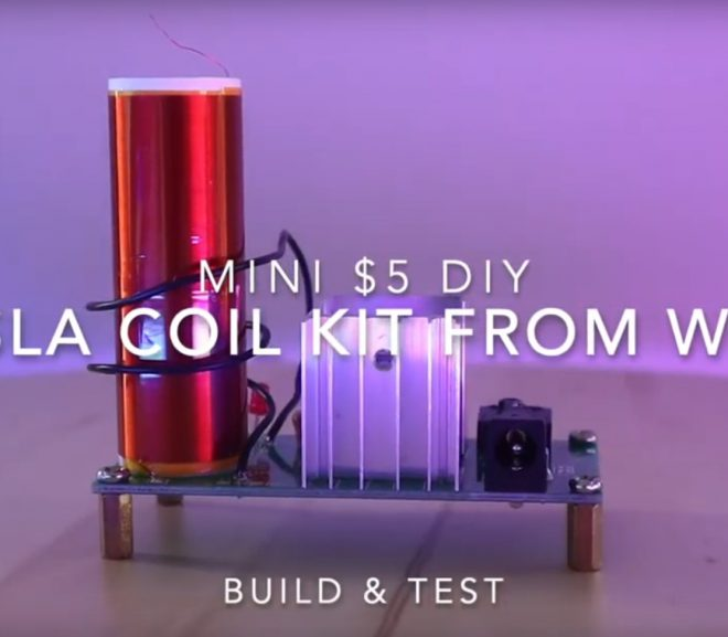 Building A $5 Mini Tesla Coil Kit From Wish