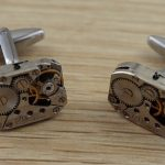 Completed Cufflinks