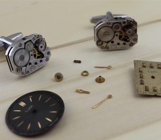 Make Your Own Mechanical Watch Movement Cufflinks